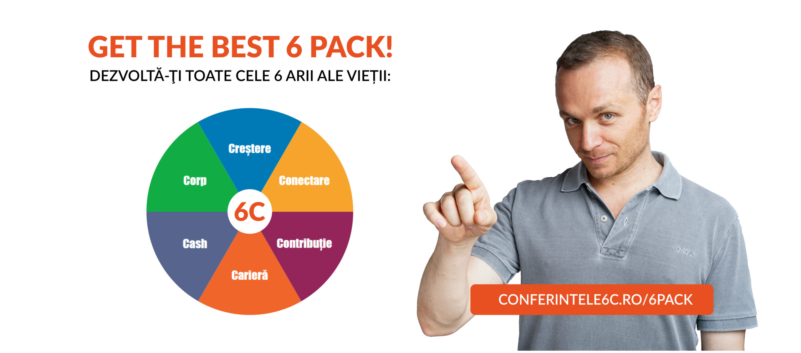 Conferintele 6C: Get The Best 6 Pack!