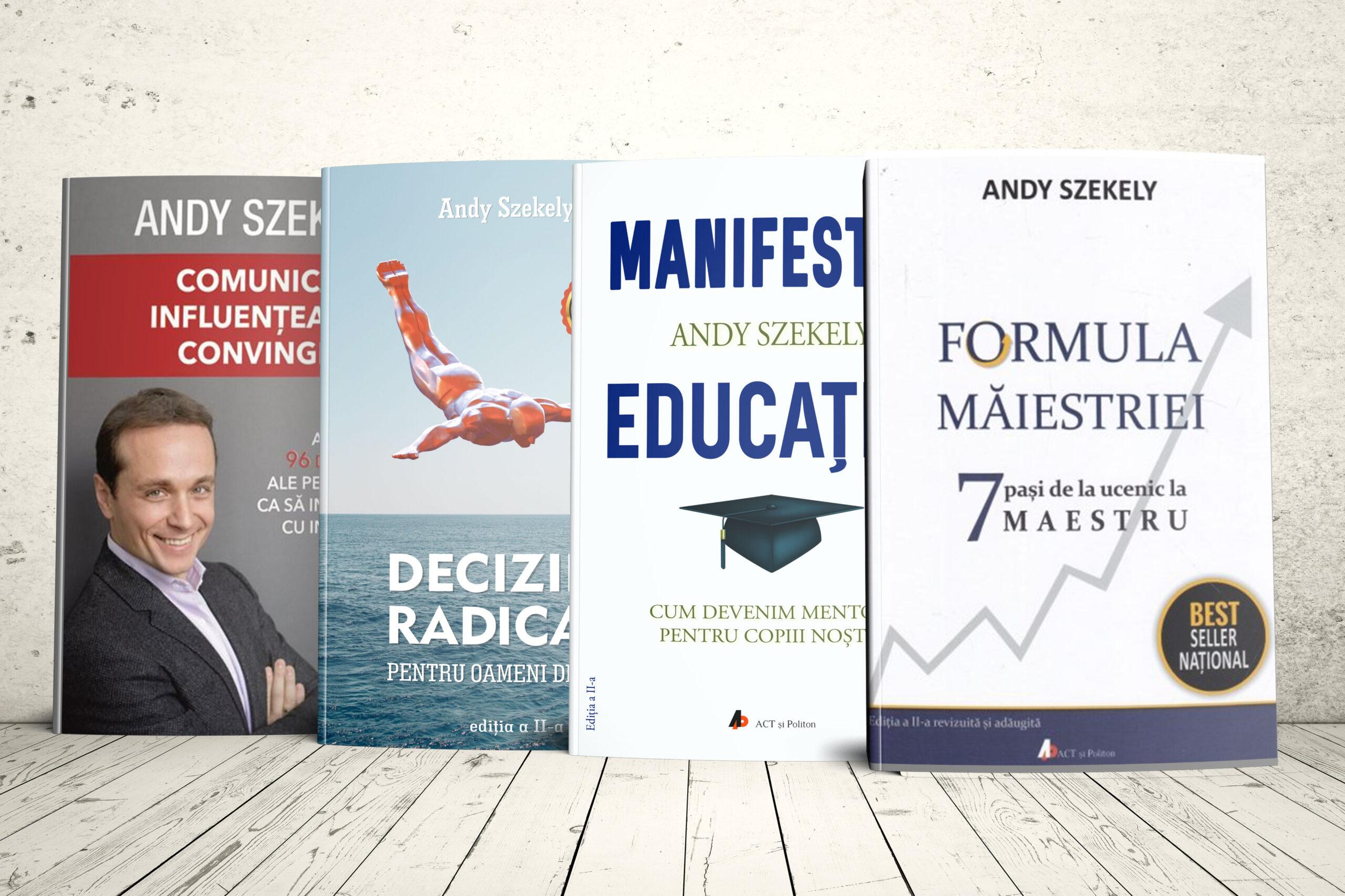 4 cărți pentru transformarea totală