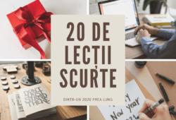 20 de lecții scurte dintr-un 2020 prea lung